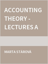 Accounting Theory - Lectures and Seminars