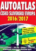 Autoatlas Česko / Slovensko / Evropa 2016/2017