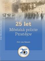 25 let - Městská policie Prostějov