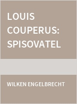 Louis Couperus: Spisovatel gentleman