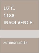 ÚZ č. 1188 Insolvence, ochrana hosp. soutěže