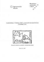 Farmářská výroba sýrů a kysaných mléčných výrobků XIV.