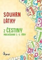 Souhrn látky z češtiny - procvičování 2. - 5. třídy