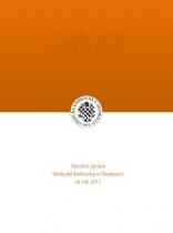 Výroční zpráva Veděcké knihovny v Olomouci za rok 2017