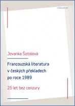 Francouzská literatura v českých překladech po roce 1989