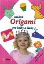 Snadná origami pro holky a kluky - růžová