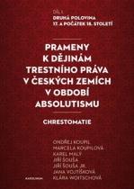 Prameny k dějinám trestního práva v českých zemích v období absolutismu