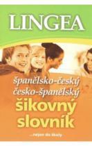 Španělsko-český česko-španělský šikovný slovník