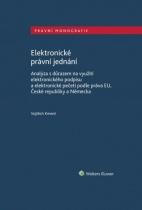 Elektronické právní jednání