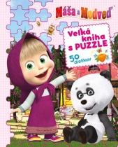 Máša a medveď - Veľká kniha s puzzle
