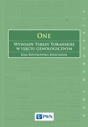 One. Wywiady Teresy Torańskiej w ujęciu genologicznym