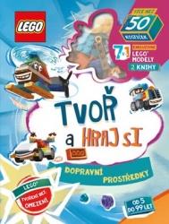 LEGO Iconic: Tvoř a hraj si - Dopravní prostředky