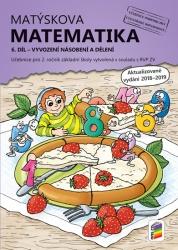 Matýskova matematika, 6. díl – Vyvození násobení a dělení