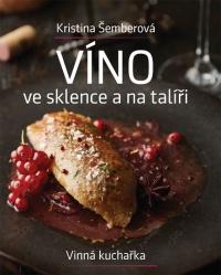 Víno ve sklence a na talíři
