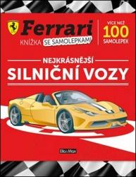 Ferrari - Knížka se samolepkami