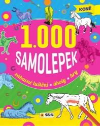 Koně - 1000 samolepek