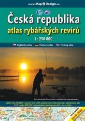 Česká republika - atlas rybářských revírů 1:250.000