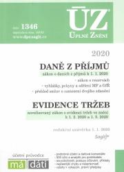 ÚZ č. 1346 Daně z příjmů, evidence tržeb 2020
