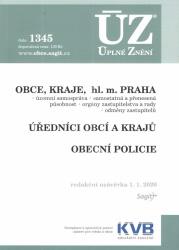 ÚZ č. 1345 Obce, Kraje, hl. m. Praha, Úředníci obcí a krajů, Obecní policie