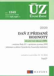 ÚZ č. 1343 Daň z přidané hodnoty 2020