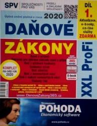 Daňové zákony 2020 XXL ProFi, díl 1.