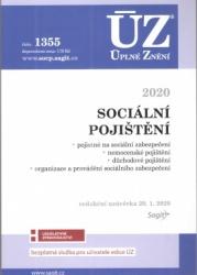 ÚZ č. 1355 Sociální pojištění 2020