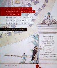 Krajina a urbanismus na plánech z 18. století.