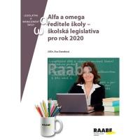 Alfa a omega ředitele školy - školská legislativa pro rok 2020