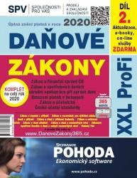Daňové zákony 2020 XXL ProFi, díl 2.