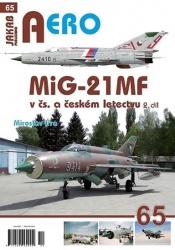 MiG-21MF v čs. a českém letectvu - 2.díl