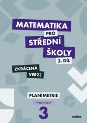 Matematika pro střední školy 3. díl - Pracovní sešit