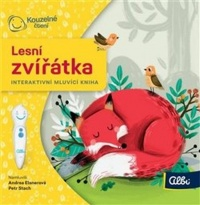 Kouzelné čtení - Minikniha Lesní zvířátka