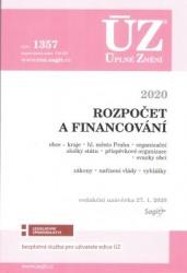 ÚZ č. 1357 Rozpočet a financování územních samosprávných celků 2020