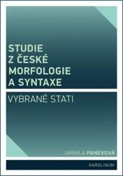 Studie z české morfologie a syntaxe Vybrané stati