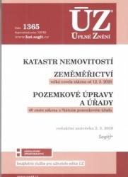ÚZ č.1365 Katastr nemovitostí, zeměměřičství