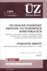ÚZ č. 1364 Technické podmínky provozu na pozemních komunikacích