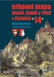 Erbovní mapa hradů, zámků a tvrzí v Čechách 14