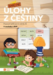 Barevné úlohy z češtiny pro 5. ročník