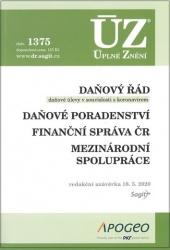 ÚZ č. 1375 Daňový řád, Daňové poradenství, Finanční správa ČR, Mezinárodní spolupráce