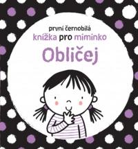 První černobílá knížka pro miminko - Obličej