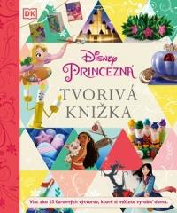 Disney Princezná - Tvorivá knižka