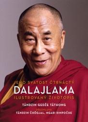 Jeho Svatost čtrnáctý dalajlama - Ilustrovaný životopis