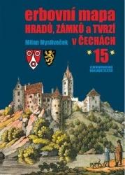 Erbovní mapa hradů, zámků a tvrzí v Čechách 15