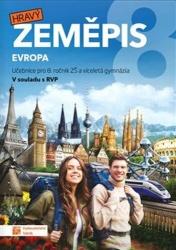 Hravý zeměpis 8 – Evropa - učebnice