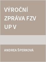 Výroční zpráva FZV UP v Olomouci 2019