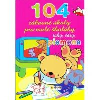 104 zábavné úkoly pro malé školáky - tahy, čáry, písmena