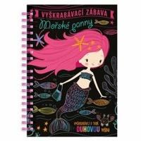 Vyškrabávací zábava: Mořské panny