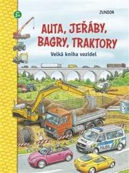 Auta, jeřáby, bagry, traktory