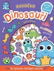 Kuliočko - Dinosauři 20 reliéfních samolepek
