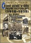 České země v éře První republiky (1918-1938) II